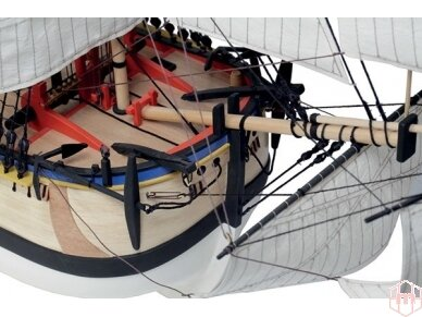 Billing Boats - HMS Endeavour - Medinis korpusas, Mastelis: 1/50, BB514 7