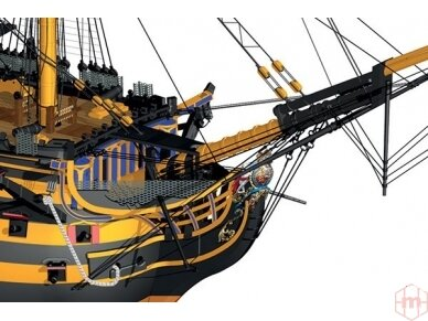Billing Boats - HMS Victory - Medinis korpusas, Mastelis: 1/75, BB498 2