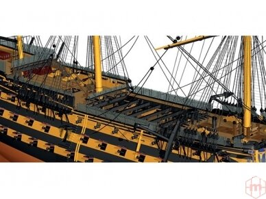 Billing Boats - HMS Victory - Medinis korpusas, Mastelis: 1/75, BB498 3