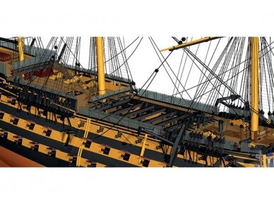 Billing Boats - HMS Victory - Wooden hull, Scale: 1/75, BB498 3
