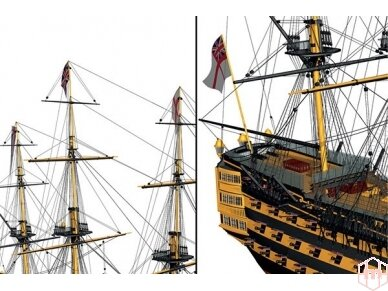 Billing Boats - HMS Victory - Wooden hull, Scale: 1/75, BB498 4