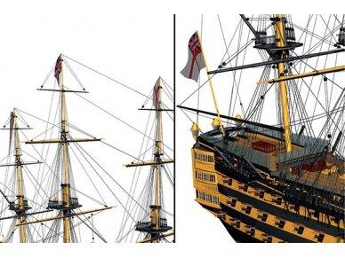 Billing Boats - HMS Victory - Medinis korpusas, Mastelis: 1/75, BB498 4