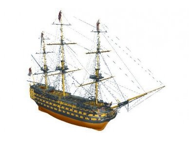 Billing Boats - HMS Victory - Wooden hull, Scale: 1/75, BB498