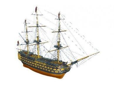 Billing Boats - HMS Victory - Medinis korpusas, Mastelis: 1/75, BB498