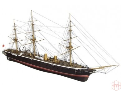 Billing Boats - HMS Warrior - Medinis korpusas, Mastelis: 1/100, BB512 3