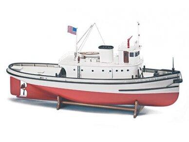 Billing Boats - Hoga Pearl Harbor Tugboat - Medinis korpusas, Mastelis: 1/50, BB708 2