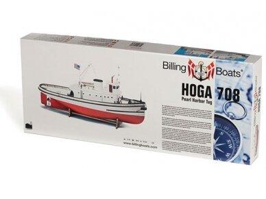 Billing Boats - Hoga Pearl Harbor Tugboat - Medinis korpusas, Mastelis: 1/50, BB708