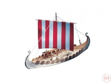 Billing Boats - Mini Oseberg - Wooden hull, Scale: 1/50, BB302
