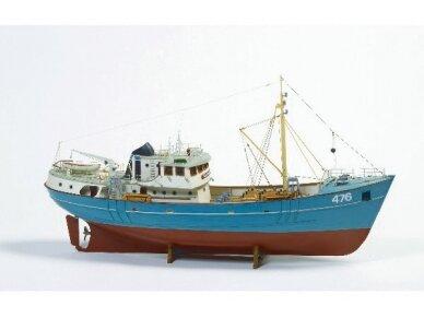 Billing Boats - Nordkap - Medinis korpusas, Mastelis: 1/50, BB476