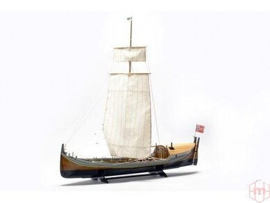 Billing Boats - Nordlandsbaaden - Medinis korpusas, Mastelis: 1/20, BB416