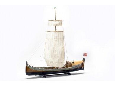 Billing Boats - Nordlandsbaaden - Wooden hull, Scale: 1/20, BB416