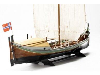 Billing Boats - Nordlandsbaaden - Medinis korpusas, Mastelis: 1/20, BB416 2