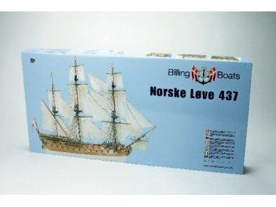 Billing Boats - Norske Love - Medinis korpusas, Mastelis: 1/75, BB437