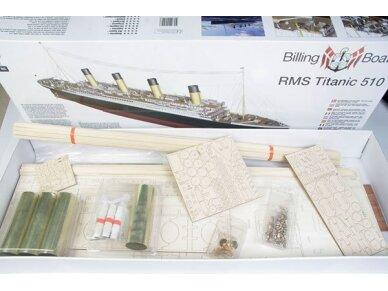 Billing Boats - RMS Titanic Complete - Medinis korpusas, Mastelis: 1/144, BB510 2