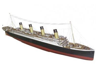 Billing Boats - RMS Titanic Complete - Medinis korpusas, Mastelis: 1/144, BB510 3