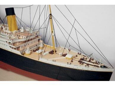 Billing Boats - RMS Titanic Complete - Medinis korpusas, Mastelis: 1/144, BB510 4