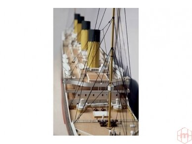 Billing Boats - RMS Titanic Complete - Medinis korpusas, Mastelis: 1/144, BB510 5