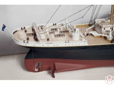 Billing Boats - RMS Titanic Complete - Medinis korpusas, Mastelis: 1/144, BB510 6