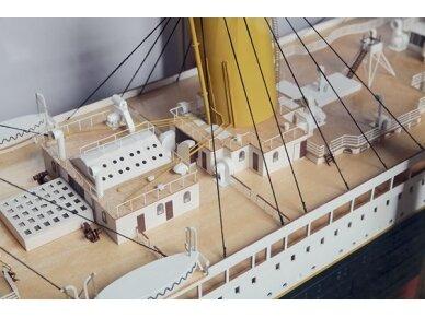 Billing Boats - RMS Titanic Complete - Medinis korpusas, Mastelis: 1/144, BB510 8