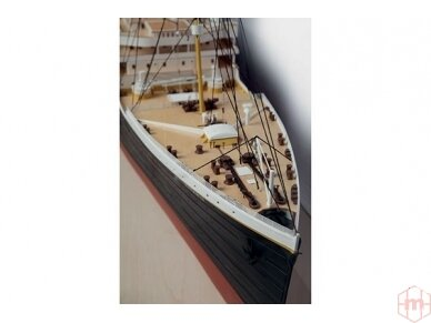 Billing Boats - RMS Titanic Complete - Medinis korpusas, Mastelis: 1/144, BB510 9
