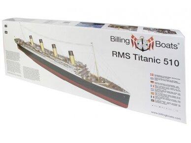 Billing Boats - RMS Titanic Complete - Medinis korpusas, Mastelis: 1/144, BB510
