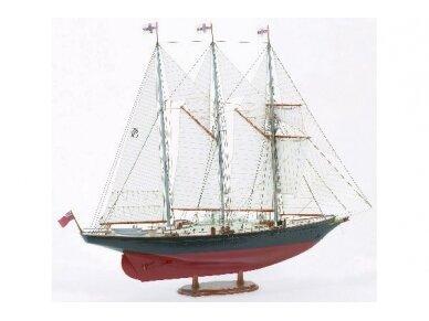 Billing Boats - Sir Winston Churchill - Medinis korpusas, Mastelis: 1/75, BB706