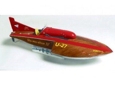 Billing Boats - Slo-Mo-Shun IV - Medinis korpusas, Mastelis: 1/12, BB520