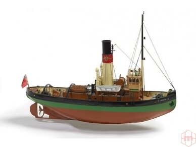 Billing Boats - ST. Canute - Medinis korpusas, Mastelis: 1/50, BB700