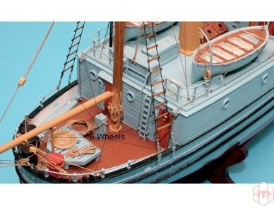 Billing Boats - ST. Roch - Medinis korpusas, Mastelis: 1/72, BB605 2