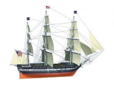 Billing Boats - USS Constitution - Medinis korpusas, Mastelis: 1/75, BB508