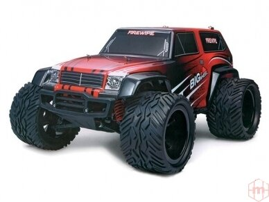 Blackzon - Monster Truck, Mastelis: 1/12, 534600
