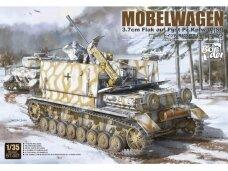Border Model - Möbelwagen 3.7cm Flak auf Fgst. Pz.Kpfw. IV (Sf), 1/35, BT-007