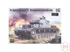 Border Model -Pz.Kpfw.IV Ausf.F1, Scale: 1/35, BT-003