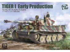 Border Model - TIGER I Early Production Sd.Kfz.181 Pz.Kpfw.VI Ausf.E, 1/35, BT-010
