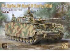 Border Model - Pz.Kpfw.IV Ausf.H Early/Mid 2 in 1, Mastelis: 1/35, BT-005