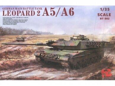 Border Model - German Main Battle Tank Leopard 2 A5/A6, 1/35, BT-002