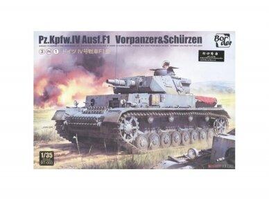 Border Model -Pz.Kpfw.IV Ausf.F1, 1/35, BT-003