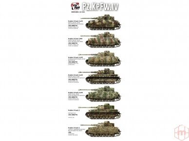 Border Model - Pz.Kpfw.IV Ausf.G Mid/Late, Scale: 1/35, BT-001 6