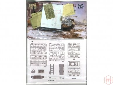 Border Model - Pz.Kpfw.IV Ausf.G Mid/Late, 1/35, BT-001 8
