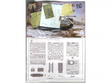 Border Model - Pz.Kpfw.IV Ausf.G Mid/Late, Scale: 1/35, BT-001 8