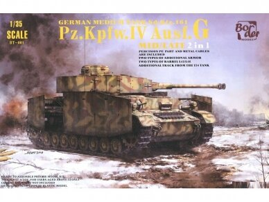 Border Model - Pz.Kpfw.IV Ausf.G Mid/Late, Scale: 1/35, BT-001