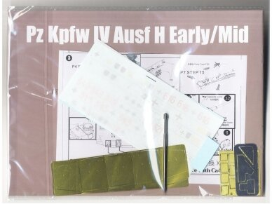 Border Model - Pz.Kpfw.IV Ausf.H Early/Mid 2 in 1, Scale: 1/35, BT-005 8
