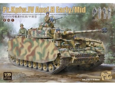 Border Model - Pz.Kpfw.IV Ausf.H Early/Mid 2 in 1, Scale: 1/35, BT-005