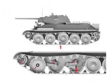 Border Model - Limited Edition T-34E & T-34/76 (Factory 112) - 2 in 1 1/35, BT-009 6
