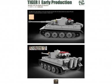 Border Model -TIGER I Early Production Sd.Kfz.181 Pz.Kpfw.VI Ausf.E, 1/35, BT-010 2