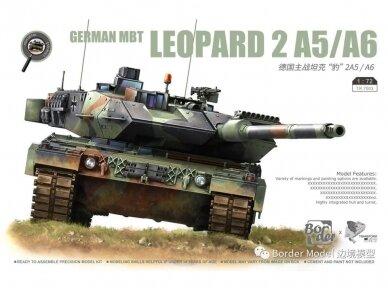 Border Model - German MBT Leopard 2A5/A6, 1/72, TK-7201