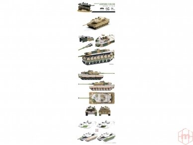 Border Model - German MBT Leopard 2A5/A6, 1/72, TK-7201 2
