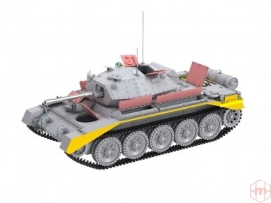 Border Model -Crusader Mk.III British Cruiser Tank Mk. VI, 1/35, BT-012 4