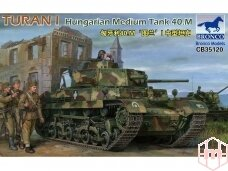 Bronco - Turan I Hungarian Medium Tank 4, Scale: 1/35, 35120