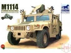 Bronco - M1114 Up - Armored tactical vehicle, Scale: 1/35, 35080